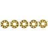 Plastic Trim Ring 11mm Gold